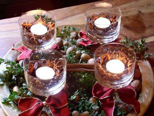 Decorare Tavola Natale Fai Da Te : Apparecchiare tavola di natale centrotavola natalizio fai da te