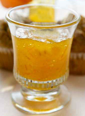 Gelatina all'arancia