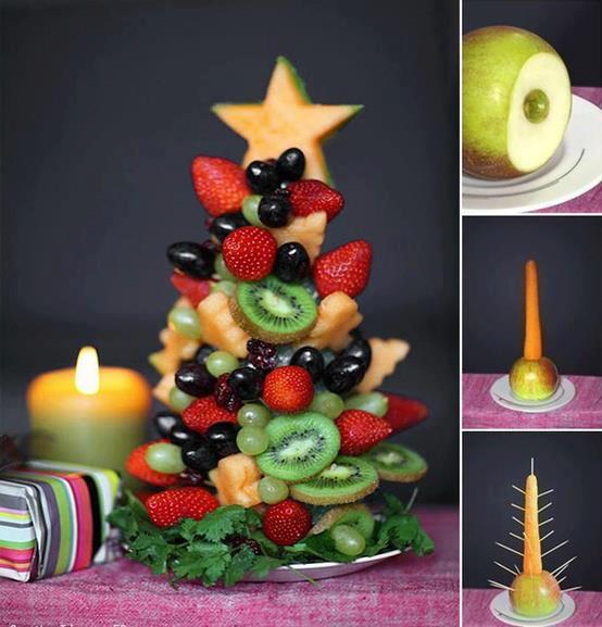 Ben noto Idee per Natale – Come realizzare un albero di frutta | OriginalITALY WT95