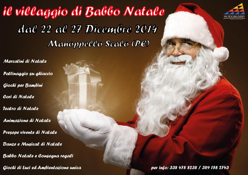 IL VILLAGGIO DI BABBO NATALE di Manoppello Scalo (Pescara)