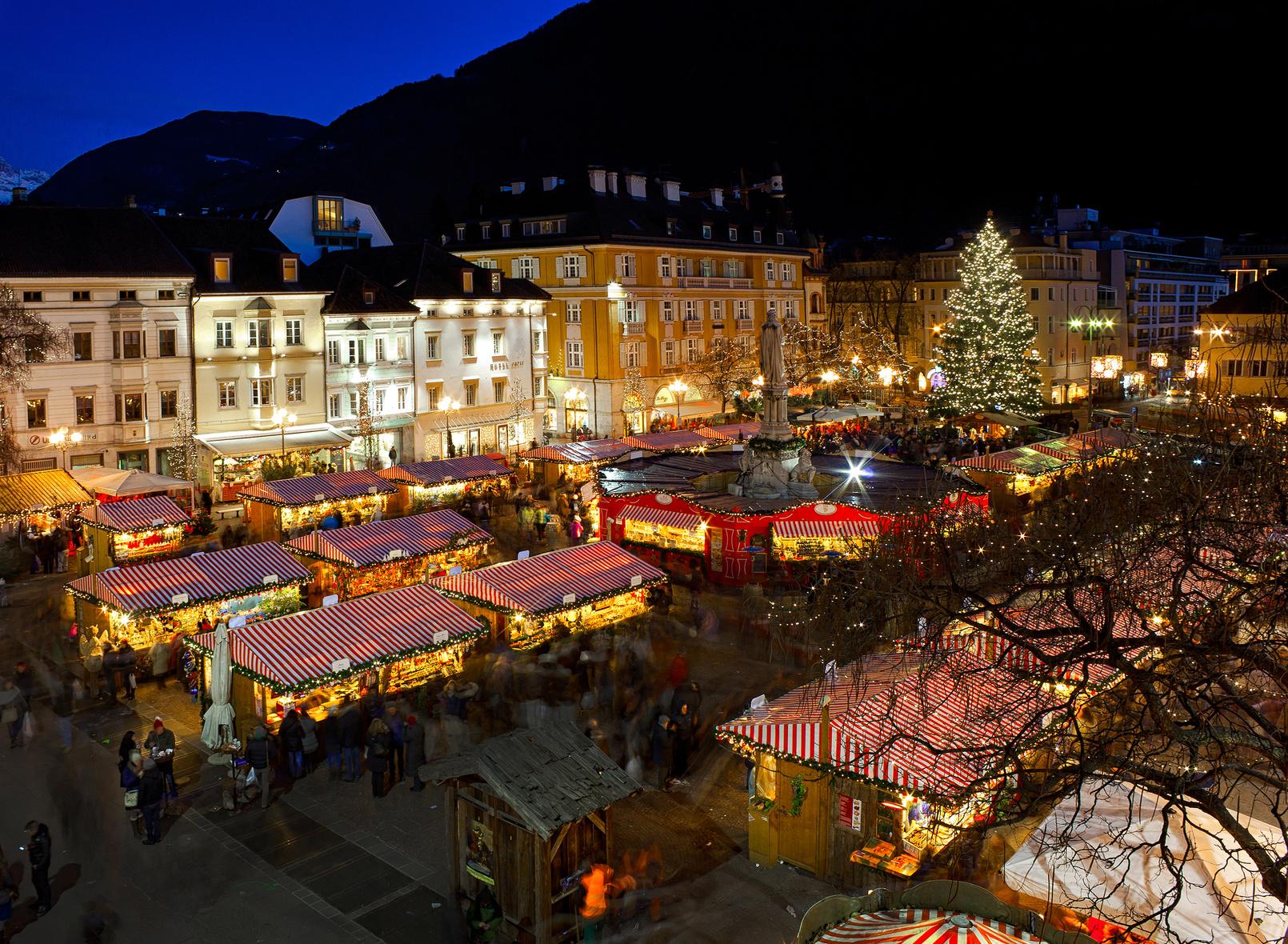 Tour Mercatini Natale di Bolzano e provincia
