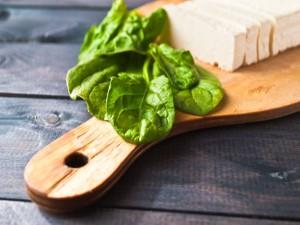 polpette di tofu e spinaci